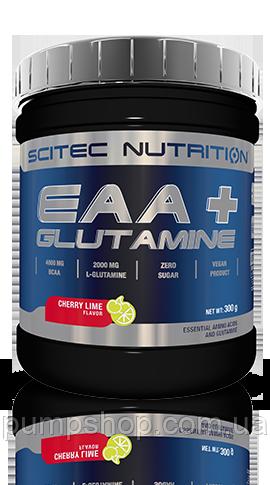 Амінокислотний комплекс + глютамін Scitec Nutrition ЕАА + Glutamine 300 г
