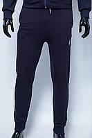 Спортивные штаны мужские трикотажные на манжете 070 синие