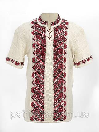 Вязанка черно-красная Андрей | В'язанка чорно-червона Андрій, фото 2
