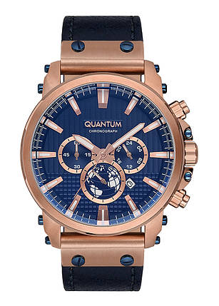 Часы мужские Quantum PWG671.499 бронзовые, фото 2