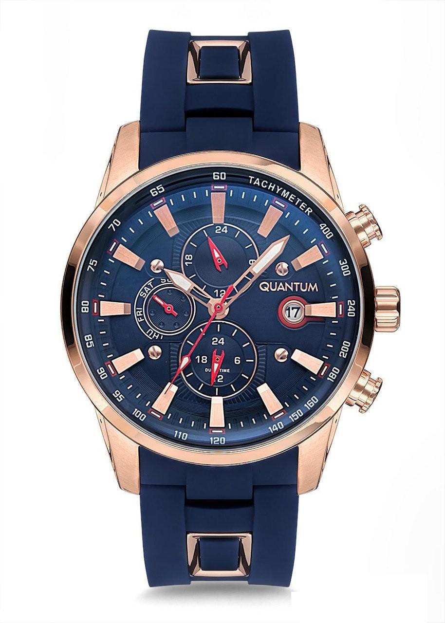 Часы мужские Quantum ADG678.499 синие