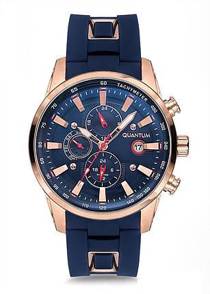Часы мужские Quantum ADG678.499 синие, фото 2