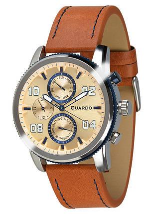 Часы мужские Guardo 011097-2 коричневые, фото 2