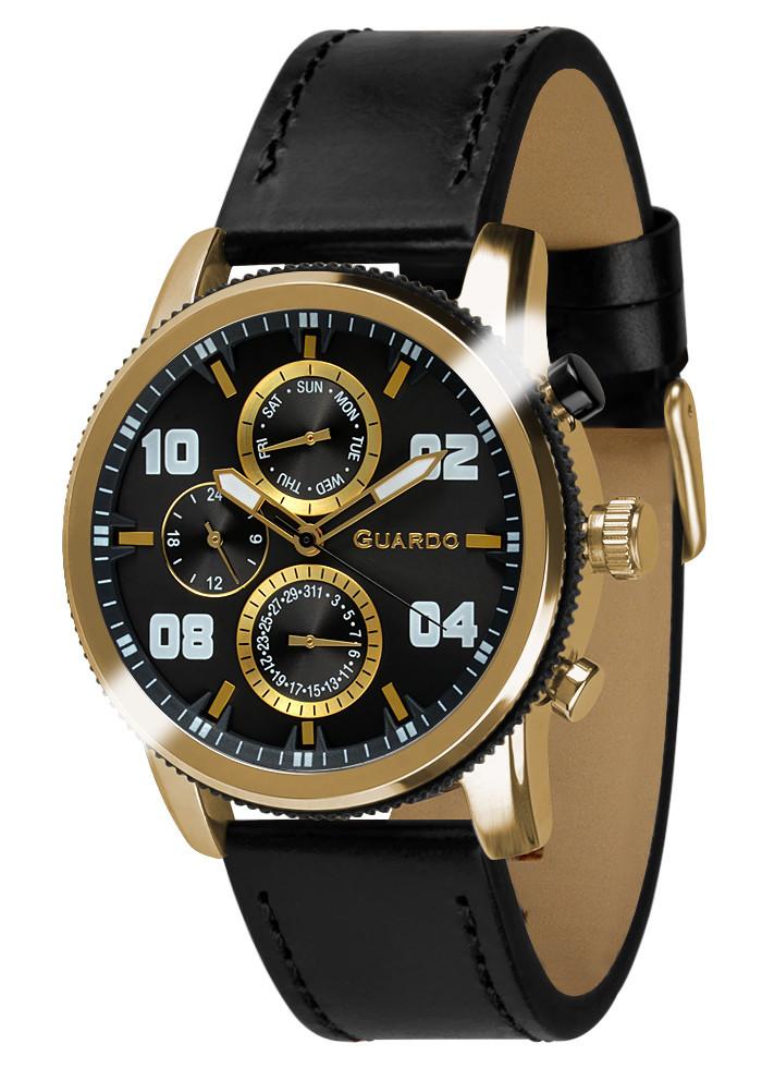 Часы мужские Guardo 011097-3 черные
