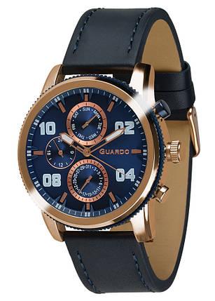 Часы мужские Guardo 011097-4 черные, фото 2