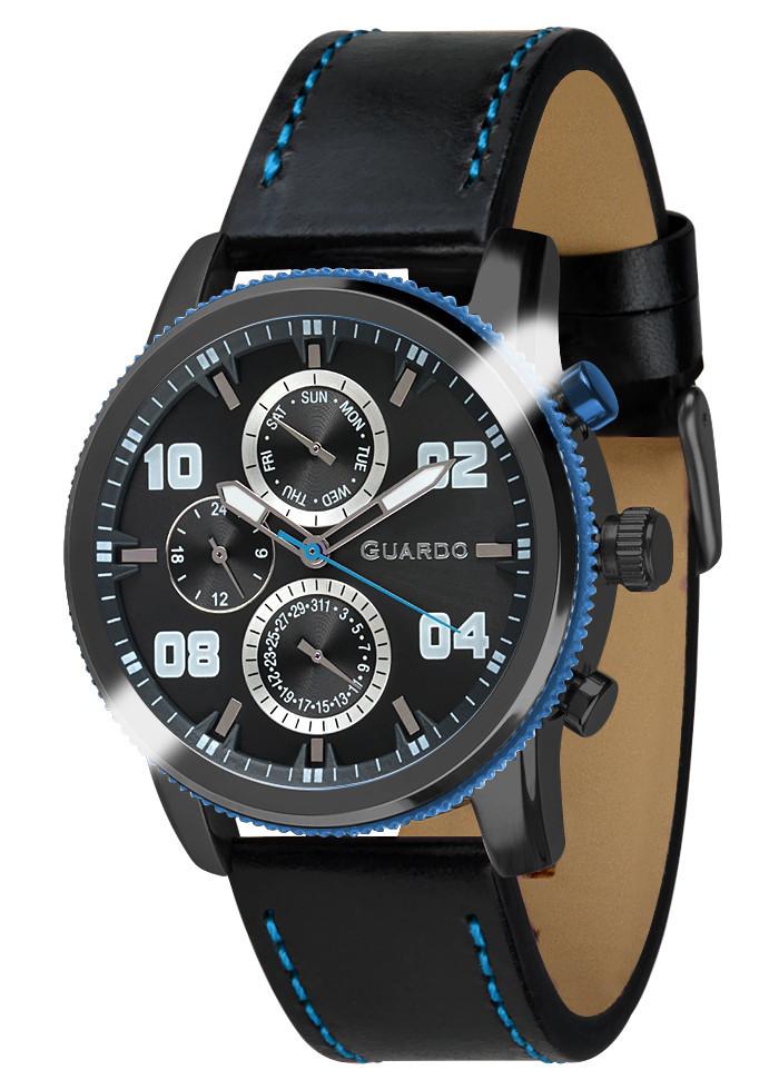 Часы мужские Guardo 011097-5 черные