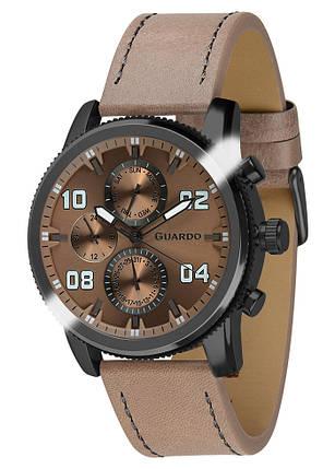 Часы мужские Guardo 011097-6 черные, фото 2