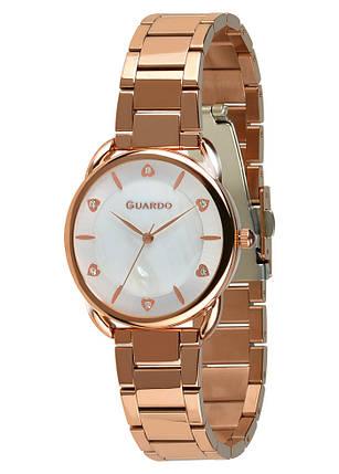 Часы женские Guardo 011148-5 золотые, фото 2