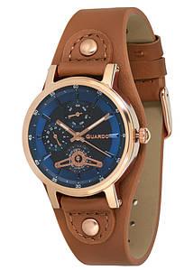 Часы женские Guardo 011265-5 коричневые