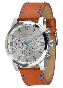 Часы мужские Guardo 011401-1 серебряные
