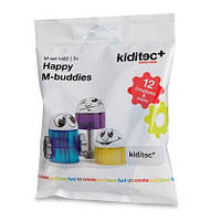 Конструктор 1480 Kiditec Happy M-buddies 3723, КОД: 655432