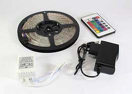 Светодиодная лента 3528 LED RGB 5 м SMD 25599873, КОД: 146618