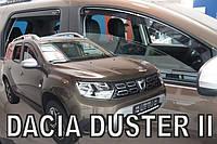Дефлекторы окон Ветровики вставные  Renault Duster 2018 →(HEKO)