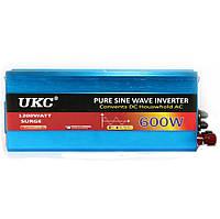 Инвертор преобразователь напряжения UKC 12-220 V 600 W Синий hubnp21129, КОД: 666839
