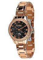 Часы женские Guardo S2038-5 розово-золотые