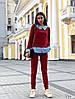 Женский костюм / двунитка, хлопок / Украина 27-203