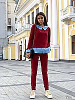 Женский костюм / двунитка, хлопок / Украина 27-203, фото 1