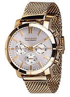 Часы мужские Guardo S01677-4 золотые