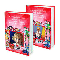 Name book Your Baby and the Red Elf or the story for children who wake up in a good mood FTBKREDE, КОД: 220674