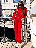 Женский костюм в спортивном стиле / двунитка / Украина 27-233, фото 1