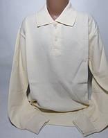 Рубашка поло для мальчика с длинным рукавом Размер 10 - 12 лет