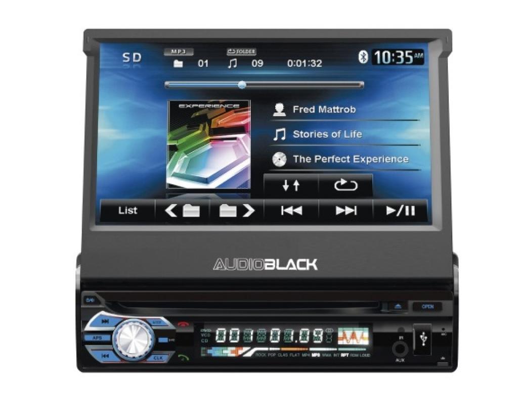 Автомагнитола 1DIN DVD-9505/9506 Android GPS с выезжающим экраном