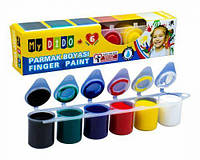 """Пальчиковые краски """"My Dido"""", 6 цветов  sco"""