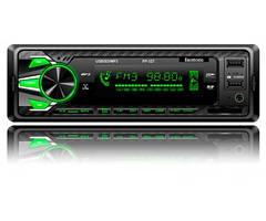 Автомагнитола Fantom FP-327 Black/Green