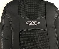 Чехлы на сиденья Авточехлы CHERY KIMO 2007- з с и сид 2/3 1/3 4 подг airbag Nika чери кимо