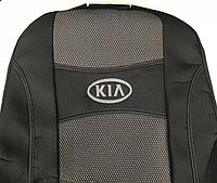 Чехлы на сиденья Авточехлы KIA RIO 2017- Россия з с 2/3 1/3 5 подг airbag Nika киа рио
