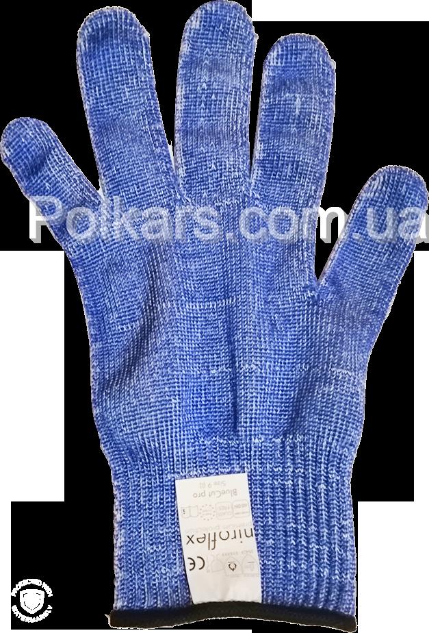 Защитная перчатка Bluecut pro  (защищает руки от порезов)