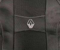 Чехлы на сиденья Авточехлы RENAULT MEGANE III 2014- з с и сид 2/3 1/3 подлокотн 5 подголовн airbag Nika рено
