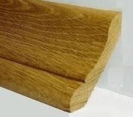 Плинтус дубовый 30х45 «полустойка» (І-й сорт)