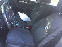 Чехлы на сиденья, авточехлы VOLKSWAGEN TRANSPORTER T5 1+1 2003- 2 подголовника; airbag. Nika