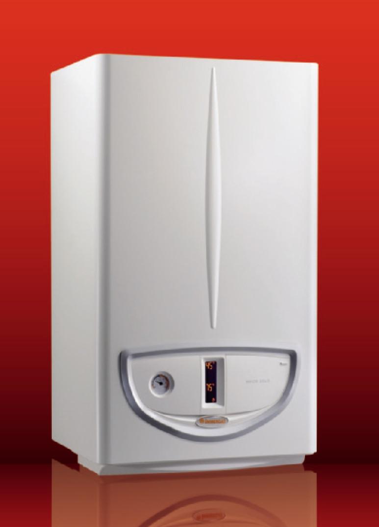 Турбированный двухконтурный газовый котел Immergas Maior Eolo 4 E 28 кВт