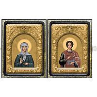 Икона Пантелеимон и Матрона СХ 2017. Иконы Новая Слобода