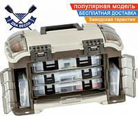 Многосекционный рыболовный ящик Plano на 18 л комплект 5 коробок для рыболовного снаряжения и приманок, США