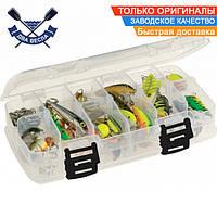 Рыбацкая двухсторонняя коробка Plano 22х5,8 см для рыболовного снаряжения и приманок, пластик, США