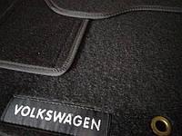 Ворсовые автомобильные коврики в салон VOLKSWAGEN Passat B6 2005- фольксваген пассат б6