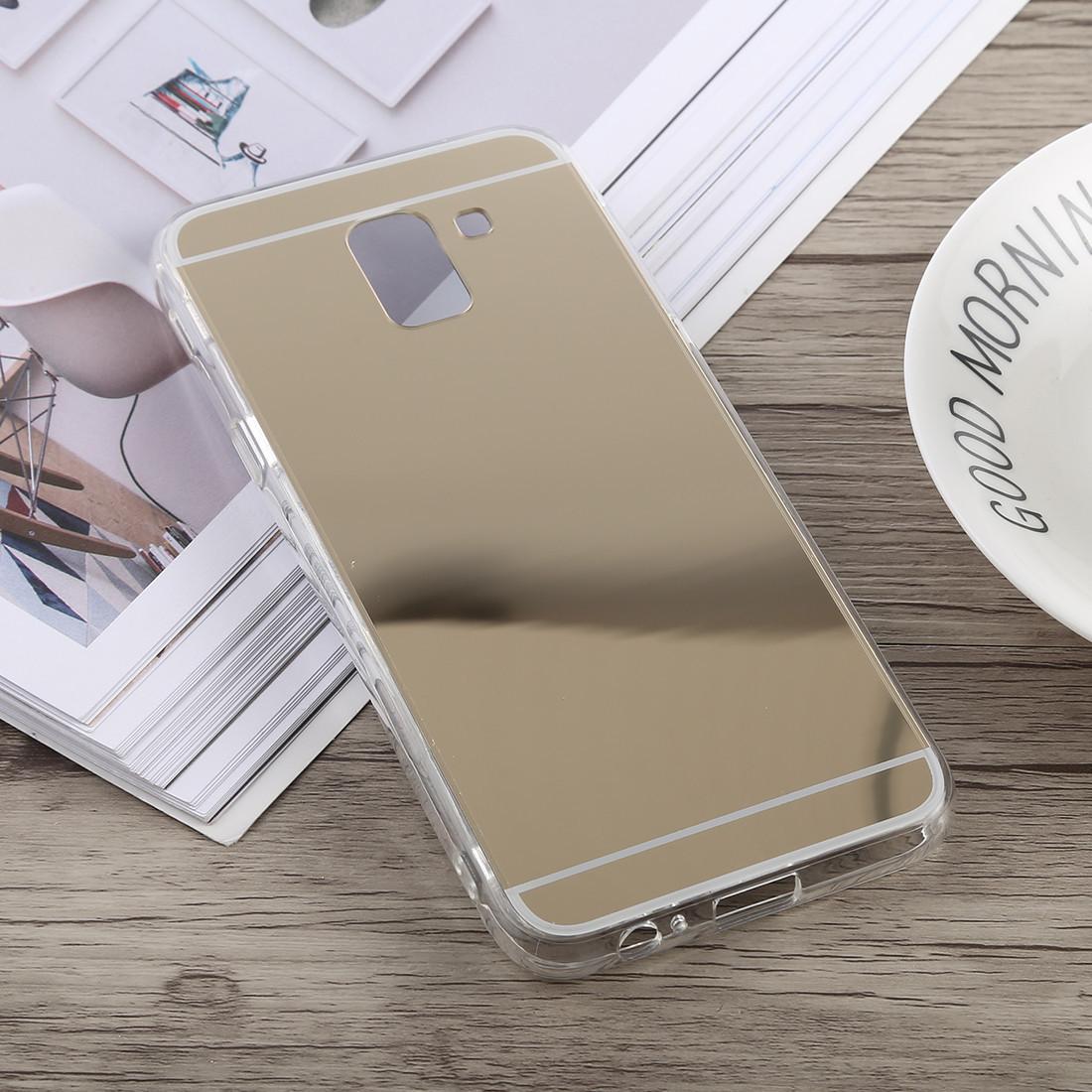 Силиконовый зеркальный чехол для Samsung Galaxy J4 2018, G534