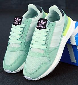 Женские кроссовки Commonwealth x Adidas Consortium ZX 500 RM Mint