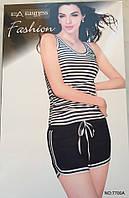 Женский комплект шорты и майка арт 7700