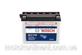 Мото аккумулятор BOSCH M4 FRESH PACK ПРАВ [+] 12V 16AH 180A 205x72x164 Bosch 0092M4F400 (YB16AL-A2)