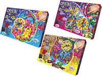 Набор для творчества Crystal Mosaic Clock DankoToys 7757