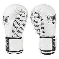 Боксерские перчатки Everlast белые EV2218