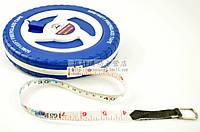 """Рулетки измерительные """"Fiber Measuring Tape"""" - 15; 20; 30; 50 метров. Ударопрочный корпус. Профессиональная."""