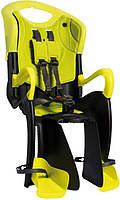 Детское велокресло Bellelli tiger relax цвет желтый (lime)
