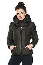 Женская демисезонная куртка с капюшоном Анфиса, фото 3