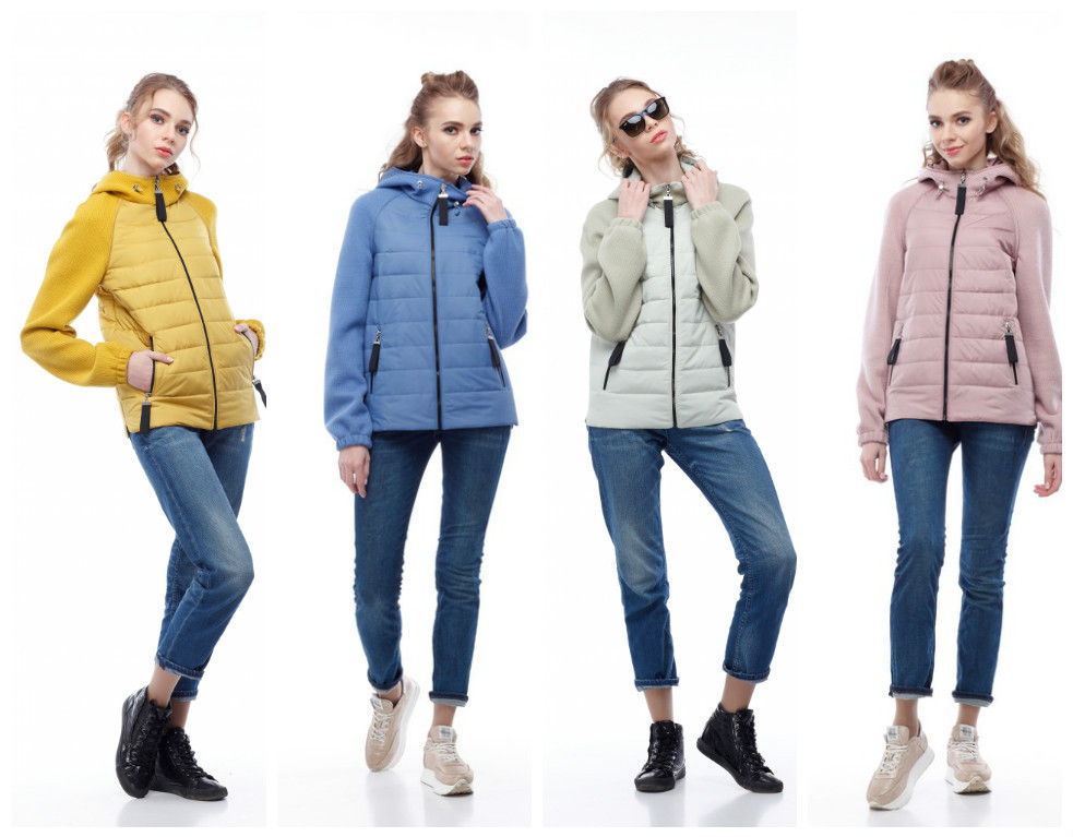 Модная женская куртка бомбер Фреш NEW