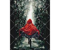 Картина по номерам Червона шапочка 40 * 50 КНО4541